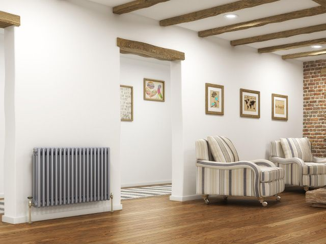 column electric radiator - buyer's guide to electric heating - shopping - goodhomesmagazine.com