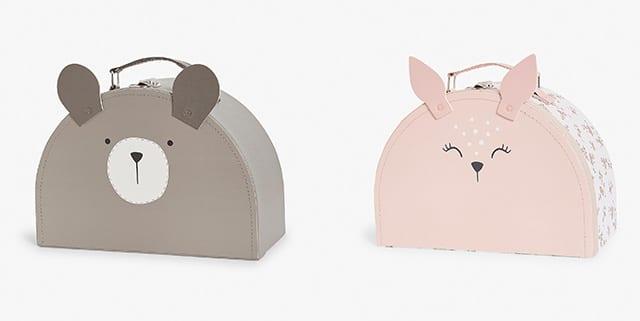 bear and bunny suitcase - kids bedroom - goodhomesmagazine.com