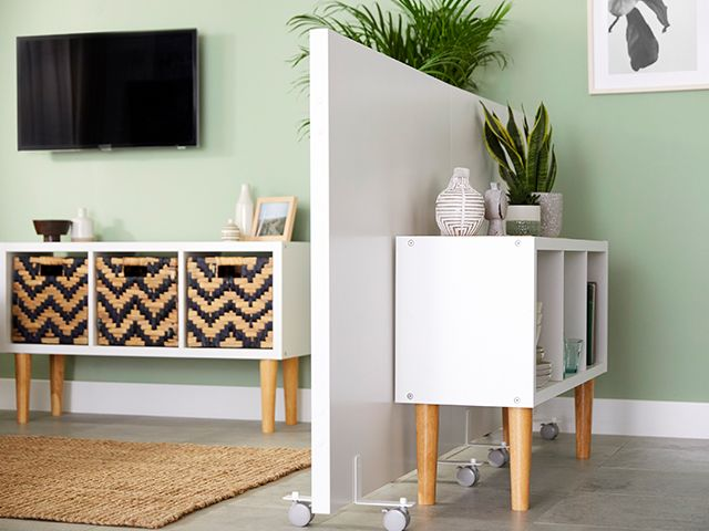 room divider half height - B&Q launches modular room dividers for working from home - news - goodhomesmagazine.com
