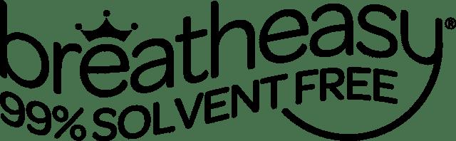 breatheasy 99% solvent free logo