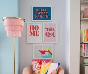 little big bell living room wiht kin & castle prints - offers - goodhomesmagazine.com