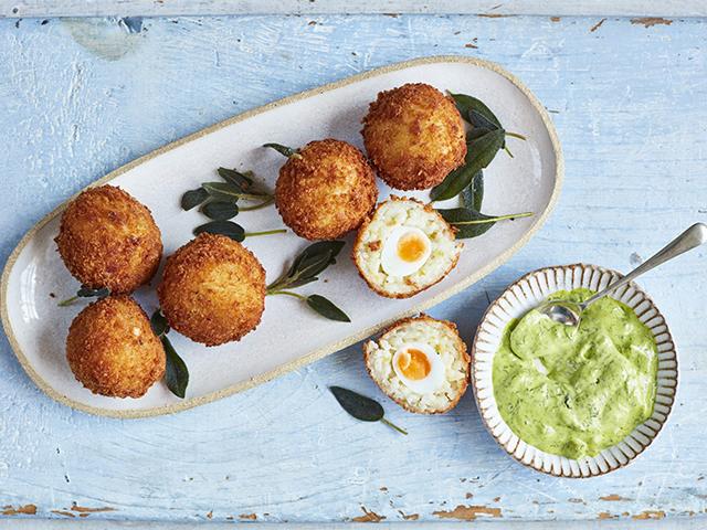 Quail Egg Arancini, Clarence Court | Good Homes Magazine