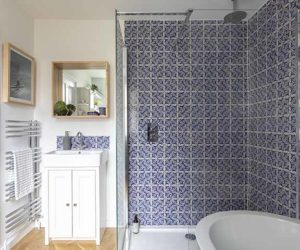"Bathroom makeover: ""A Spanish holiday inspired us!"""
