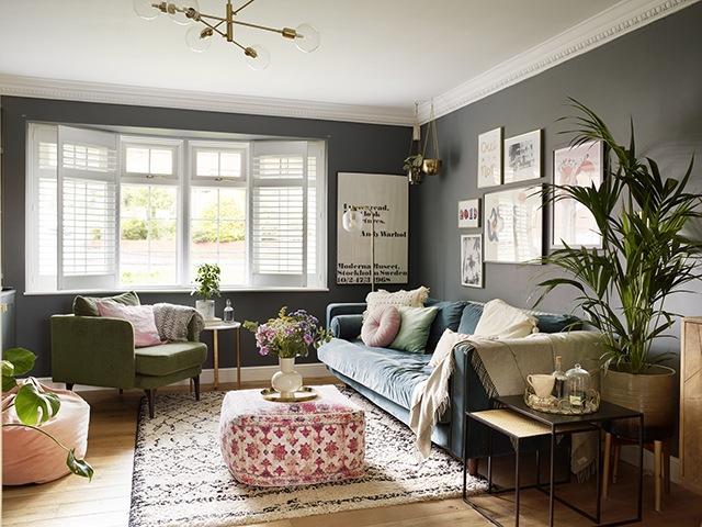Claire Kennedy home tour - Living room   Good Homes Magazine