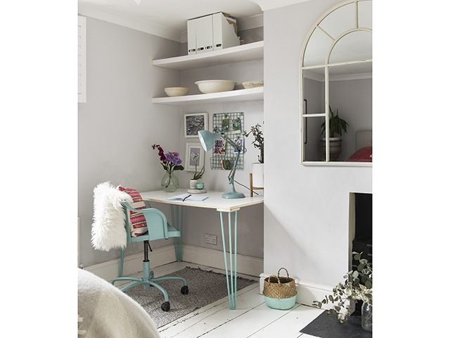 Louise McGerty colourful period house | Home Office | Good Homes Magazine
