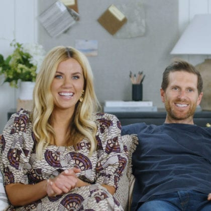 Shea and Syd McGee of Studio McGee from episode 2 of DREAM HOME MAKEOVER (photo courtesy of NETFLIX/NETFLIX © 2020)