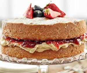Britain's most-loved bake the Victoria sponge